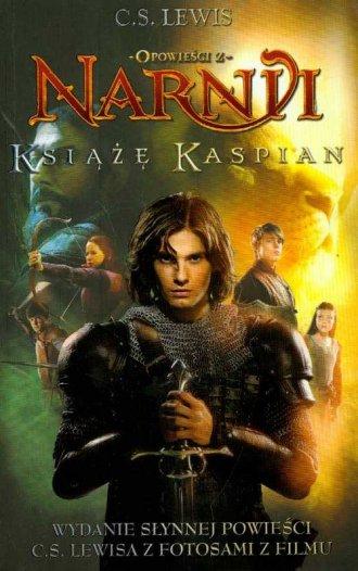 Opowieści z Narnii. Książę Kaspian - okładka książki