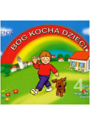 Bóg kocha dzieci. 4-latki. Podręcznik - okładka książki