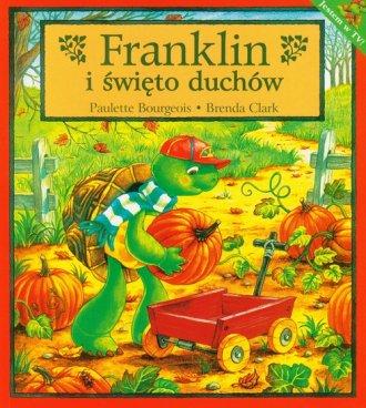 Franklin i święto duchów - okładka książki