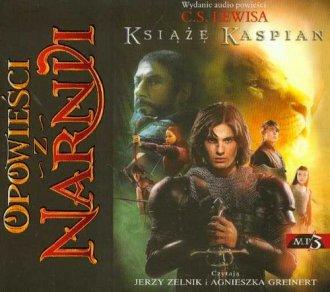 Opowieści z Narnii. Książę Kaspian - pudełko audiobooku