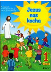 Jezus nas kocha. Klasa 1. Szkoła - okładka podręcznika