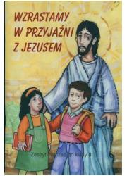 Wzrastamy w przyjaźni z Jezusem. - okładka podręcznika
