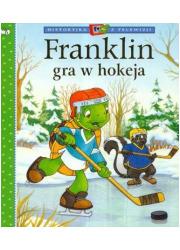 Franklin gra w hokeja - okładka książki