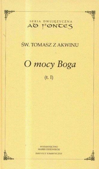O mocy Boga. Tom 1. Seria dwujęzyczna - okładka książki