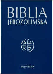 Biblia Jerozolimska (bez paginatorów) - okładka książki