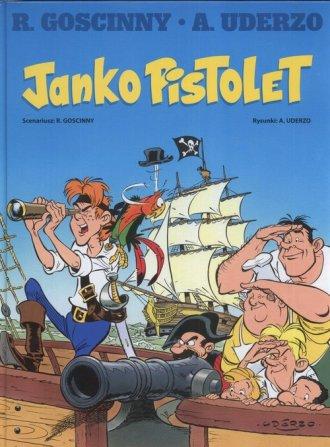 Janko Pistolet - okładka książki