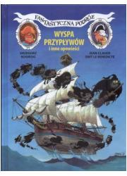 Fantastyczna podróż, Wyspa Przypływów - okładka książki