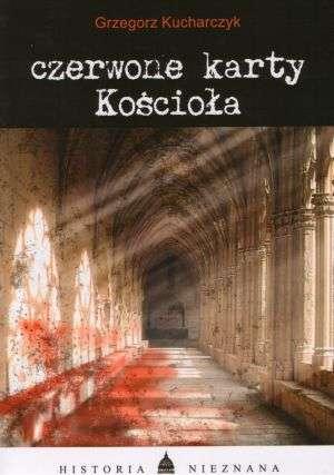 Czerwone karty Kościoła - okładka książki