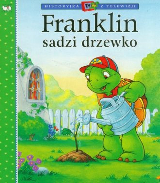Franklin sadzi drzewo - okładka książki