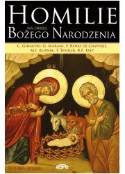 Homilie na okres Bożego Narodzenia - okładka książki