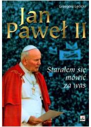 Jan Paweł II. Starałem się mówić - okładka książki