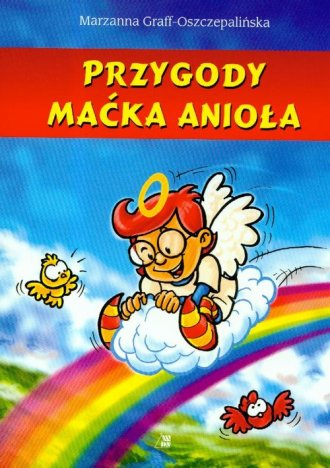 Przygody Maćka Anioła - okładka książki
