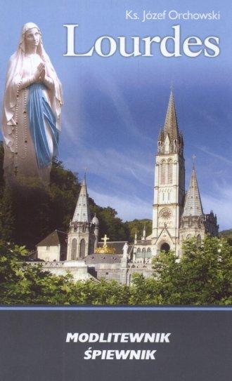 Lourdes. Modlitewnik śpiewnik - okładka książki