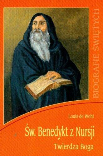 Święty Benedykt z Nursji. Twierdza - okładka książki