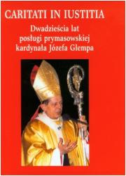 Dwadzieścia lat posługi prymasowskiej - okładka książki