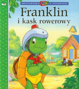 Franklin i kask rowerowy - okładka książki