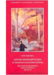 Divini Redemptoris (O bezbożnym - okładka książki