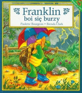 Franklin boi się burzy - okładka książki