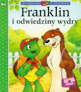 Franklin i odwiedziny wydry - okładka książki