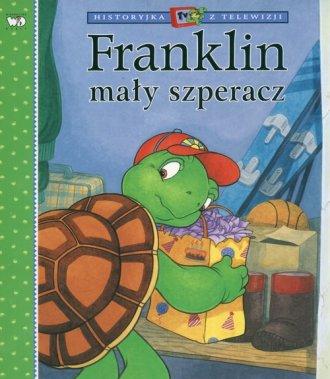 Franklin mały szperacz - okładka książki