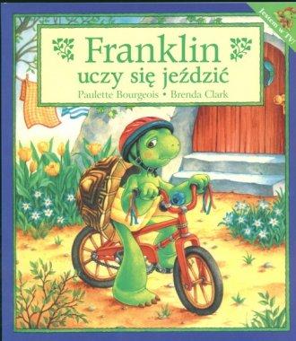 Franklin uczy się jezdzić - okładka książki